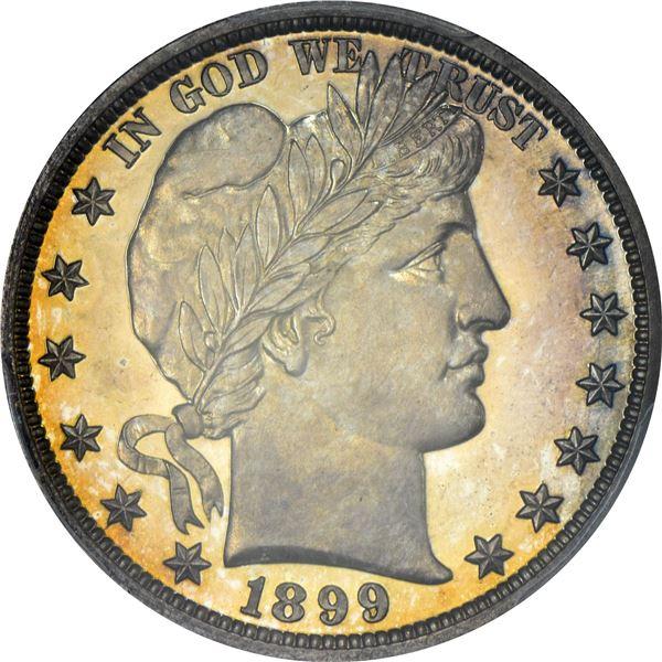 1899 50¢. Proof-66 CAM PCGS.v
