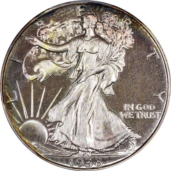 1938 50¢. Proof-66 PCGS.