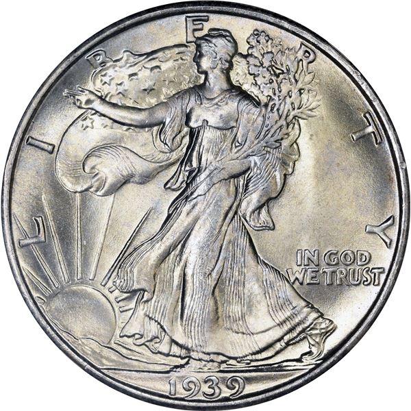 1939-S 50¢. MS-67 NGC.v