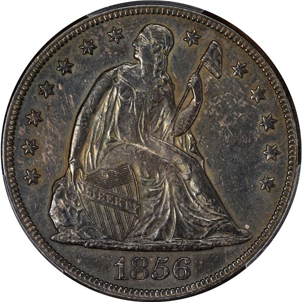 1856 $1. EF-45 PCGS.