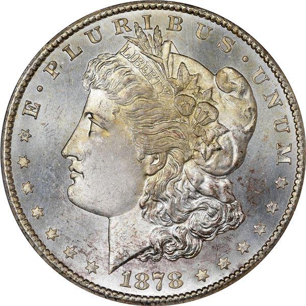 1878-CC $1. MS-65 PCGS. CAC