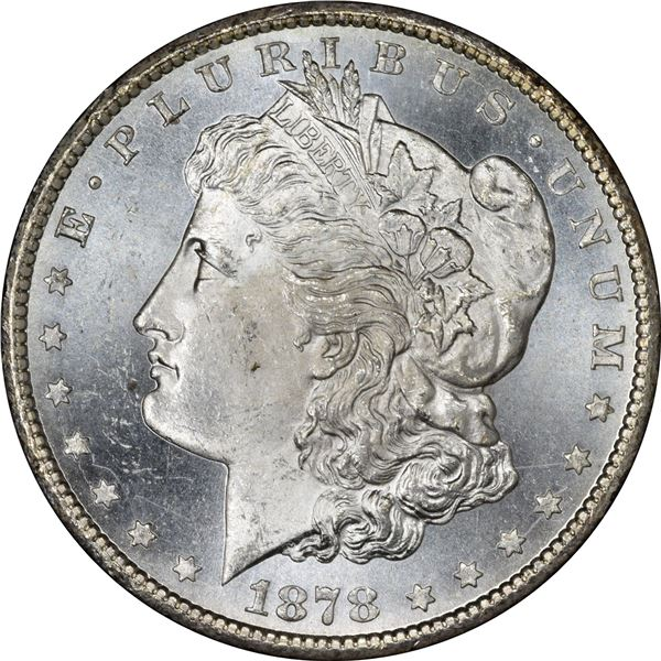 1878-CC $1. MS-63.