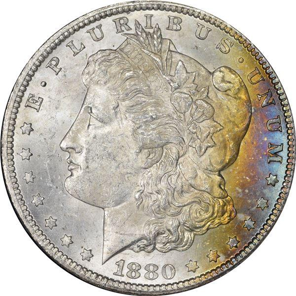 1880-CC $1. MS-62.