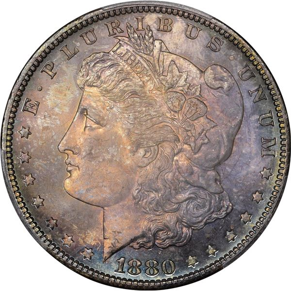 1880-S $1. MS-67 PCGS. CAC.