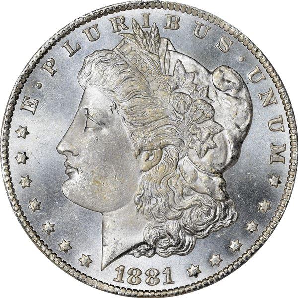 1881-CC $1. MS-65 PCGS. OGH. CAC