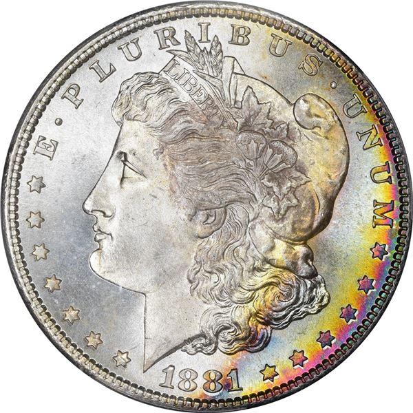 1881-S $1. MS-68 PCGS