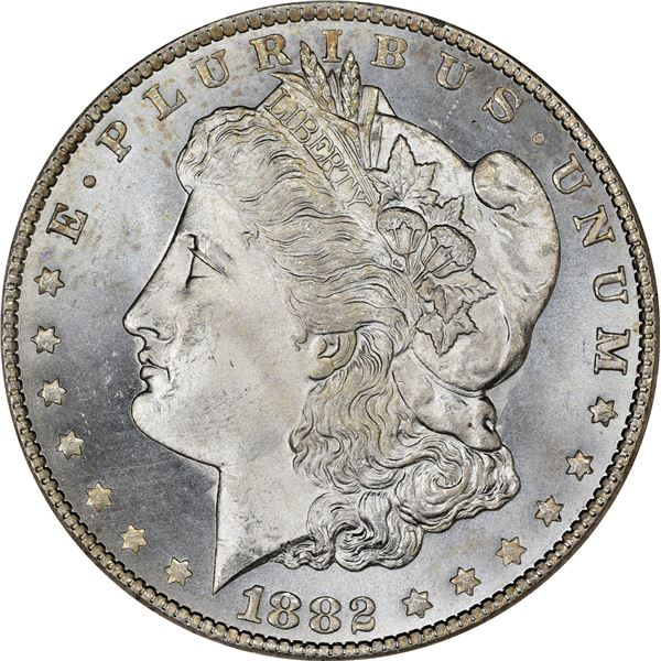 1882-CC $1. MS-66 PCGS.