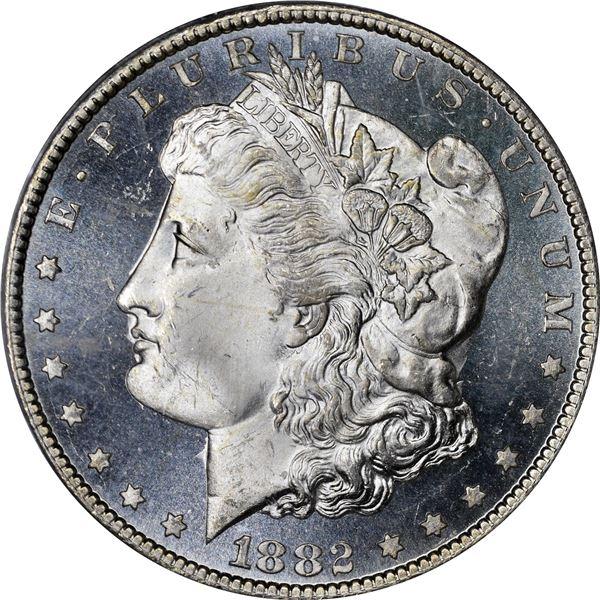 v1882-CC $1. MS-65 PL PCGS. CAC