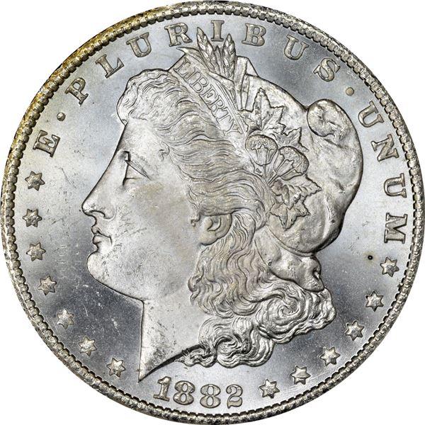 1882-CC $1. MS-65.