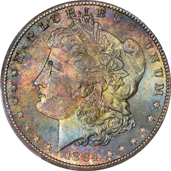 1884-CC $1. MS-66 PCGS