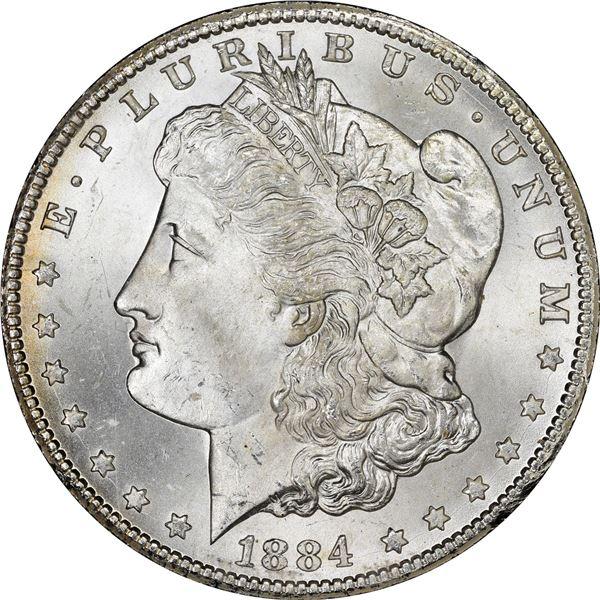 1884-CC $1. MS-65 NGC