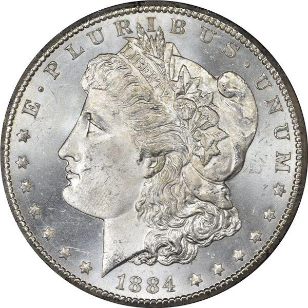 1884-CC $1. MS-64.