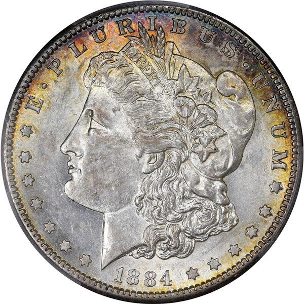 1884-S $1. AU-58 PCGS.