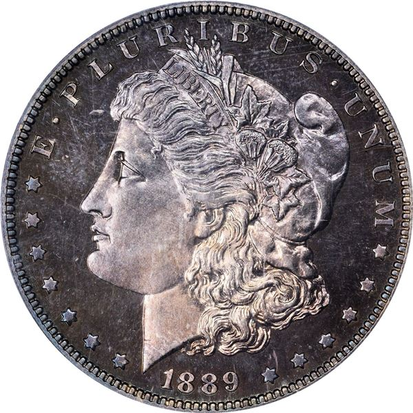 1889 $1. Proof-65 CAM PCGS. CAC.