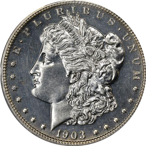 1903 $1. Proof-63 PCG