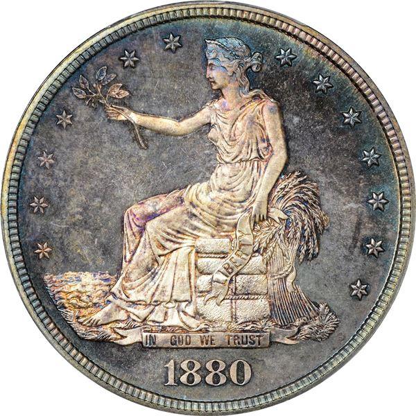1880 Trade $1. Proof-66 CAM PCGS. CAC