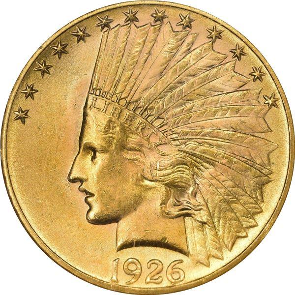 1926 $10. MS-64 NGC.