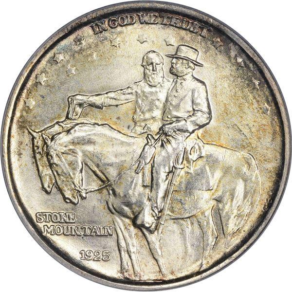 1925 Stone Mountain 50¢. MS-65 PCGS.