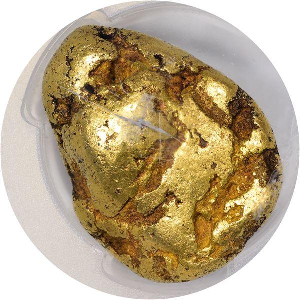 California. Gold Nugget. 8.43 Ounces. PCGS Encapsulated.