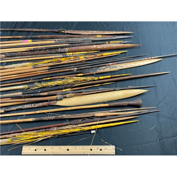 More New Guinea Arrows and Spears