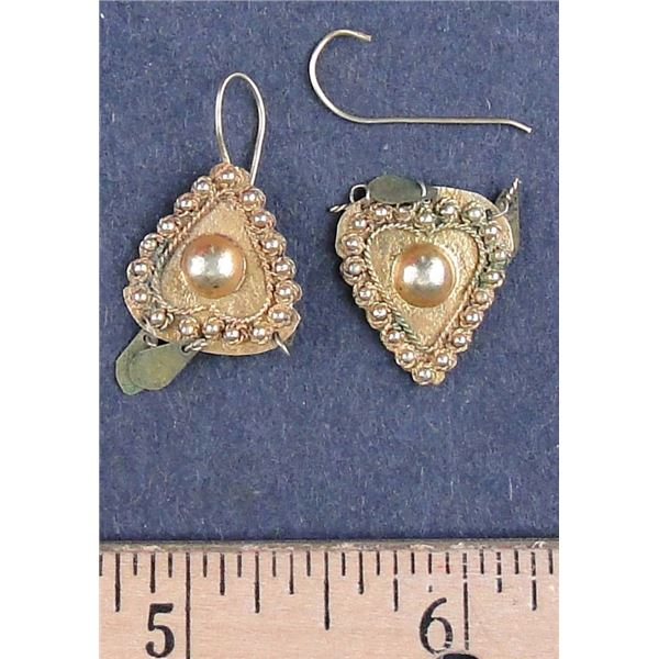 Gold Earrings for Bride Price