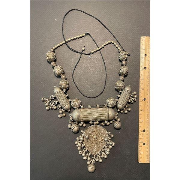 Impressive Silver Necklace
