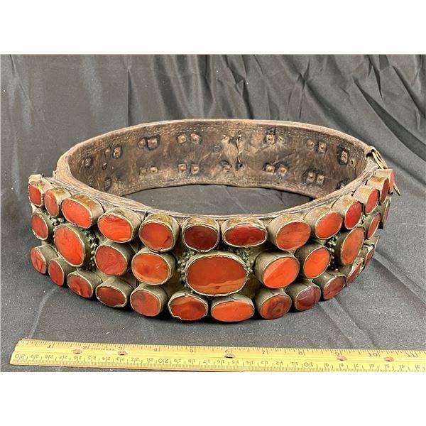 Antique Berber Belt, Ex Schulman