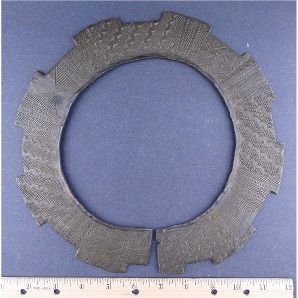 Bronze Collar, Huge Katanga Cross
