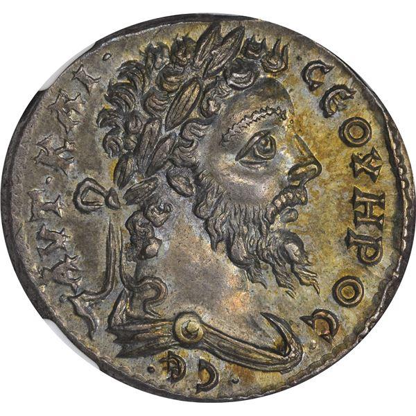 Rome. Laodicea, Syria. Septimus Severus. AD 193-211 Billon Tetradrachm. Choice AU* NGC.