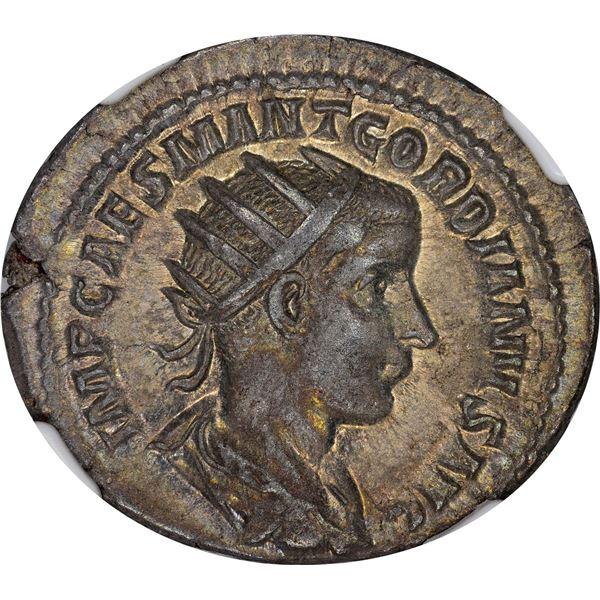Rome. Empire. Gordian III. AD 238-244 Silver Denarius. Choice EF NGC.