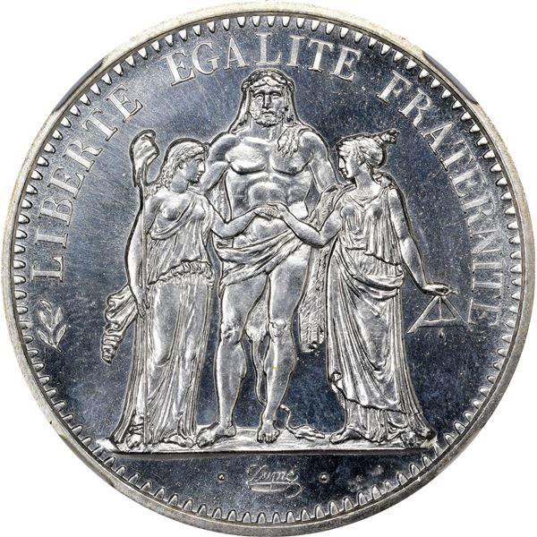 France. 1972 10 Francs. Silver. KM-932. Specimen-66 NGC.