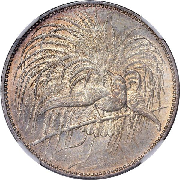German New Guinea. 1894-A 2 Marks. Berlin Mint. KM-6. MS-65 NGC.