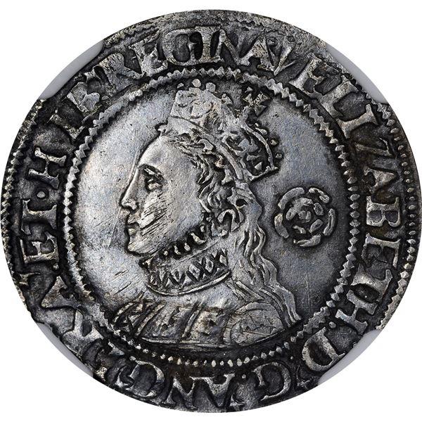 Great Britain. England. Elizabeth I. 1562 Silver Threepence. S-2565. EF-40 NGC.