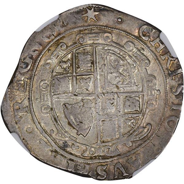England. Charles I. Undated (1640-1641) Half Crown. AU-50 NGC