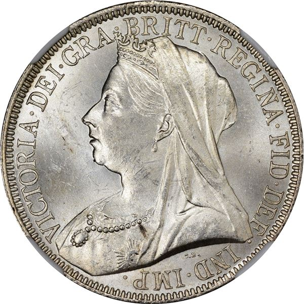 Great Britain. Victoria. 1893 Florin or 2 Shillings. MS-65 NGC.