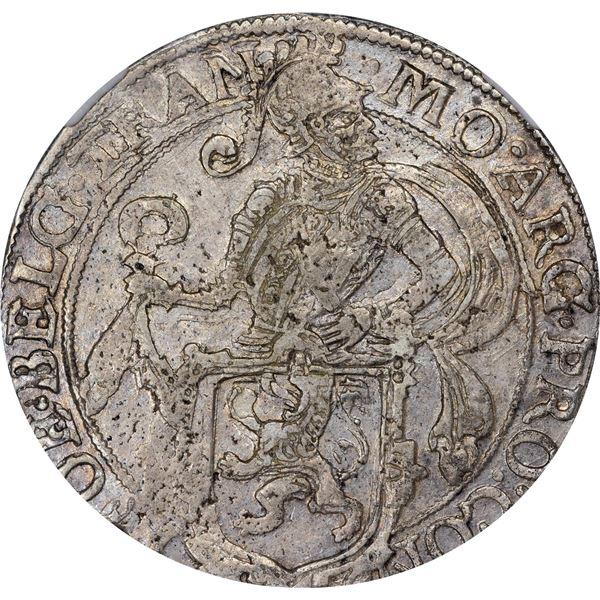 Netherlands. Utrecht. 1616 Half Lion Daalder. KM-12. VF-35 NGC.