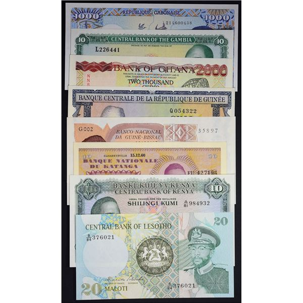 Banknotes of Africa