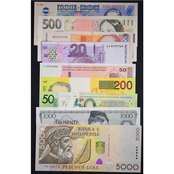 Banknotes of Europe