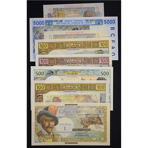 French Colonial Banknotes
