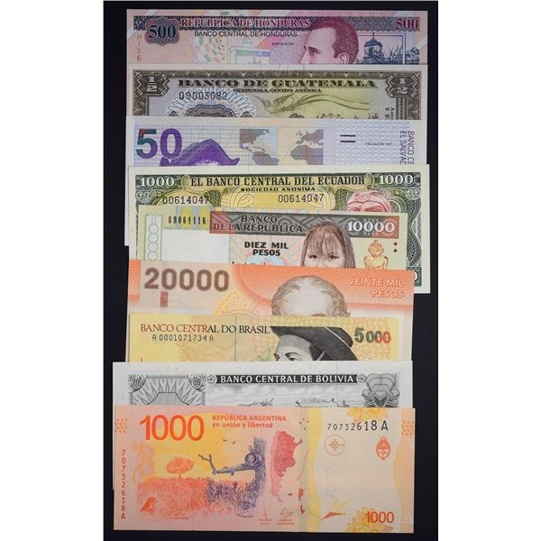 Banknotes of the Americas and Islands