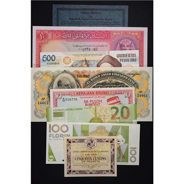 Miscellaneous World Banknotes