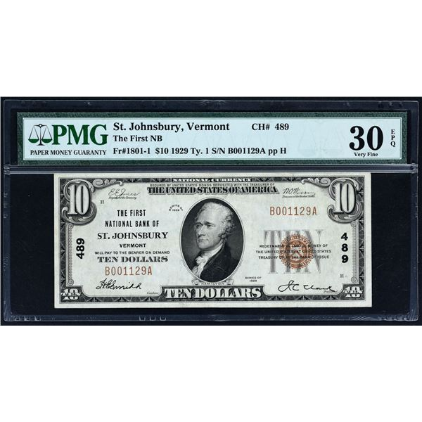Lot of (3).  National Bank Notes.  PMG and PCGS Graded