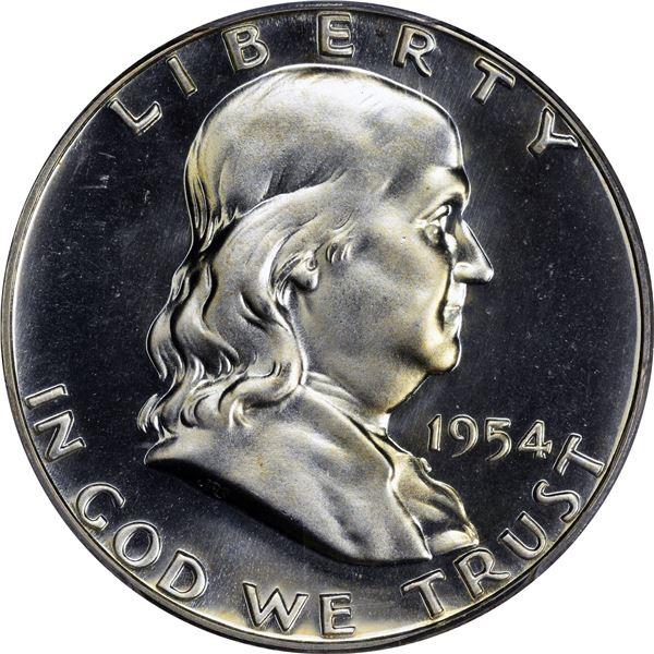 1954 50¢. Proof-67 PCGS