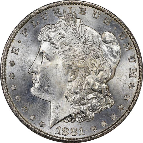 1881-S $1. MS-64 PCGS. OGH