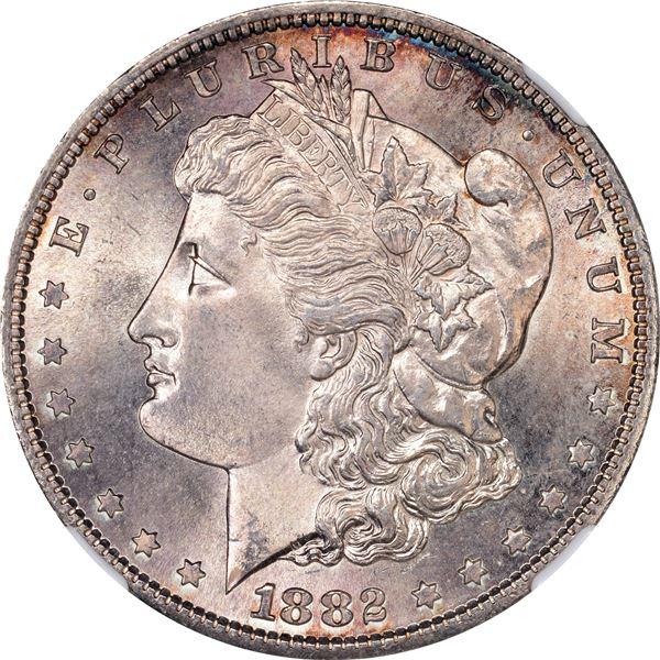 1882-S $1. MS-66 NGC
