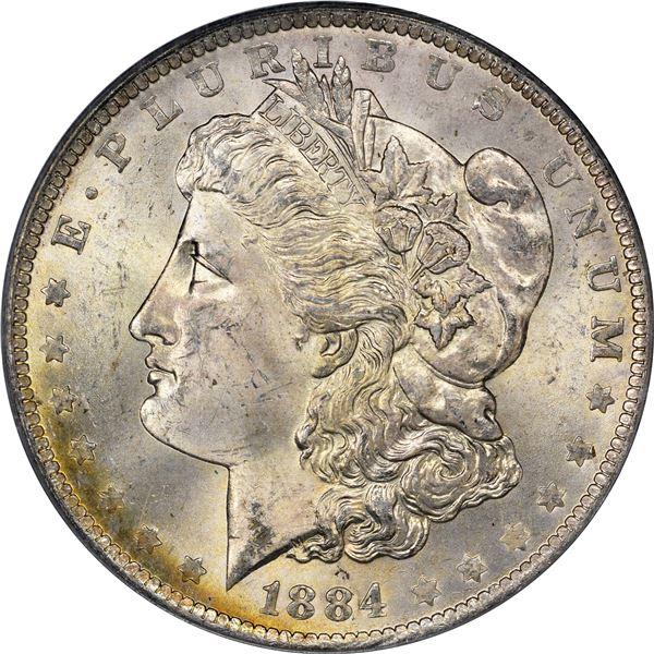 1884-O $1. MS-64 PCGS. OGH