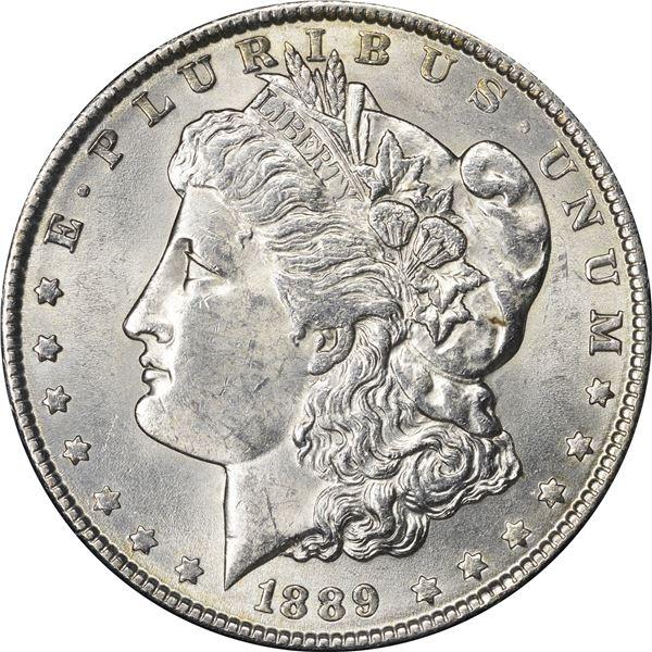 1889 $1. VAM-40A2. Doubled Ear. VSS Ungraded