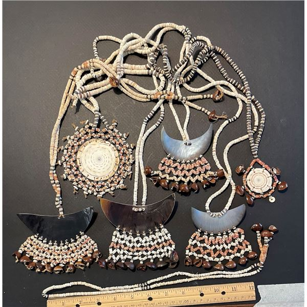 More Malaita Shell Money Necklaces
