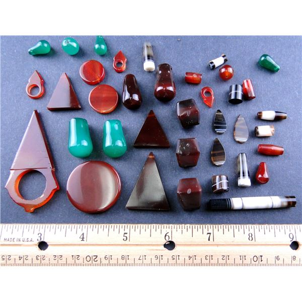 Secto of  Perfect Idar-Oberstein Beads