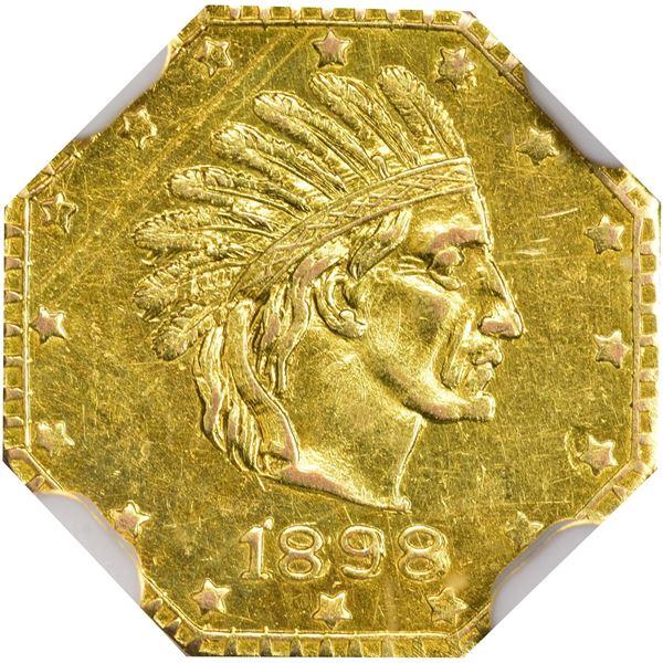 Indian Head Round Dollar